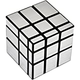 Toy Arena Presents All In One Trendy 3x3 Silver Magic Mirror Cube High Stability Speed And Smooth Stickerless Magic Puzzle Rubik's Cube (Silver Mirror Cube)
