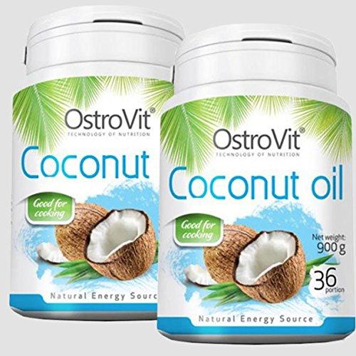 1800ml 1800g 2x 900g Coconut Oil Kokosl Kokosfett Kokosnussl Geruchlos 100 Natrlich Und Rein Reich An Ungesttigten Fettsuren