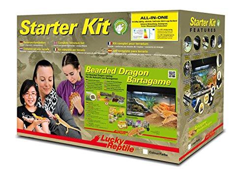 "Lucky Reptile SK80BD-B Starter Kit ""Bartagame"", 80 cm, schwarz"