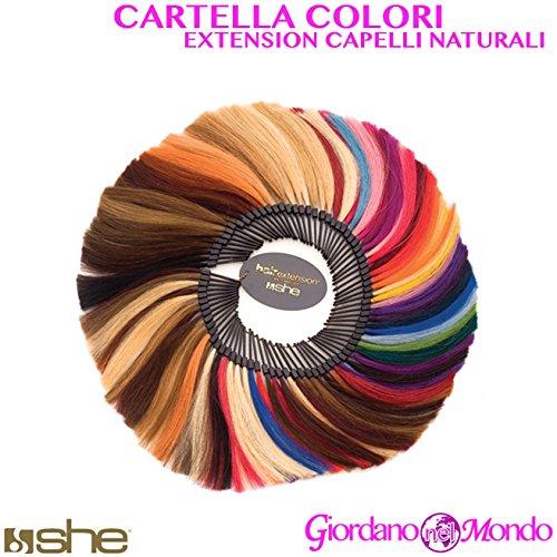 Aktendeckel Farben Extension Echthaar Keratin für Friseure She