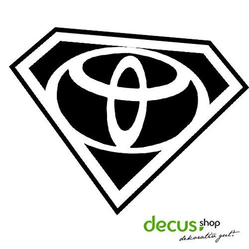 Toyota Superman // Sticker OEM JDM Style Aufkleber (blau)