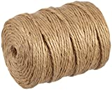 Rayher natural Jute Twine 6Ply, Jute String, 6mm