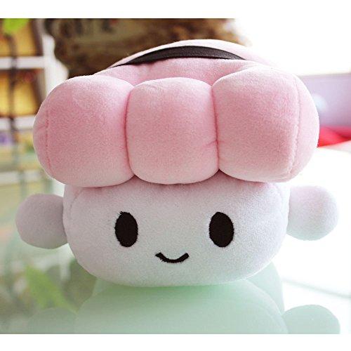 Missley cucina giapponese sushi cuscino ammortizzatore sveglio peluche cuscino bello per dormire in camera decoration (rosa)