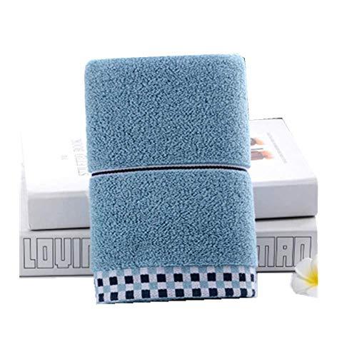 XIAOAO Baumwollhandtuch Paar wischen Gesicht Handtuch Haushalt leicht zu verlieren Haar weich saugfähigen Erwachsenen Waschhandtuch