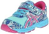 ASICS Noosa Tri 11 TS Running Shoe (Toddler), Mint/Berry Blue, 5 M US Toddler