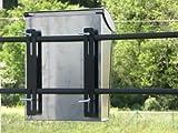 Arregui C-015 Befestigungs-Set für Zäune Mailboxen Stahl