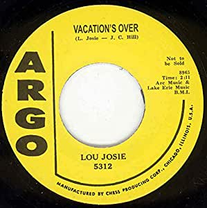 Vacation's Over - Breezin' Out 7inch, 45rpm