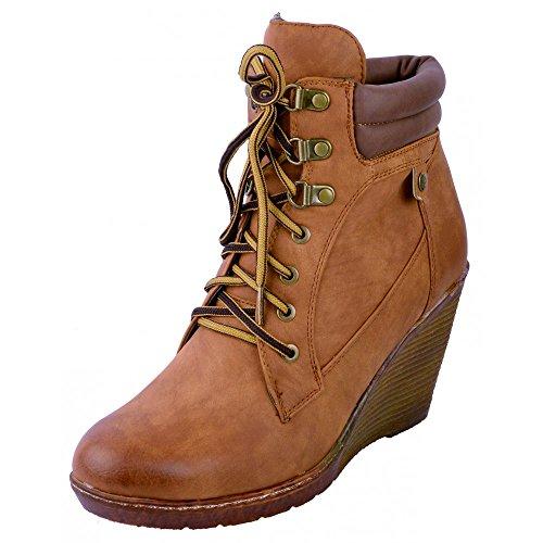 Calzature & Accessori marroni con cerniera per donna Kick Footwear Descuentos Venta En Línea WkugmsW