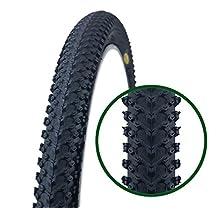 Fincci por Carretera de Montaña Bicicleta Híbrida Neumático Cubiertas 26 x 2,125 57-559