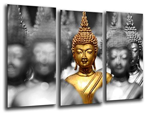 Cuadro Moderno fotografico base madera, 97 x 62 cm, Buda Buddha, Relajacion, Relax, Zen ref. 26215 3