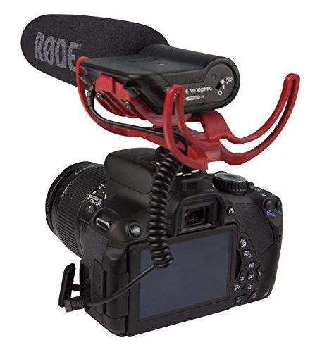 Rode VideoMic Rycote, Microfono Direzionale a Condensatore Mezzo Fucile per Utilizzo con Fotocamere e Videocamere