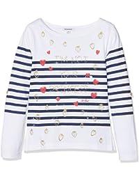 3POMMES T-shirt marinière manches longues fille