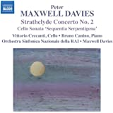 Maxwell Davies: Strathclyde 2 | Sonata For Cello & Piano [Vittorio Ceccanti, Peter Maxwell Davies] [Naxos: 8573017]