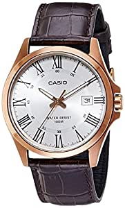 Casio Enticer Analog White Dial Men's Watch - A1007