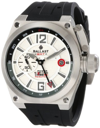 Ballast Men's BL-3119-02 Valiant Analog Display Automatic Self Wind Black Watch