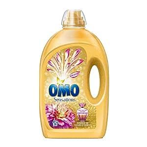 Omo Lessive Liquide Essence de Fleurs d'Orient 2,52l 36 Lavages
