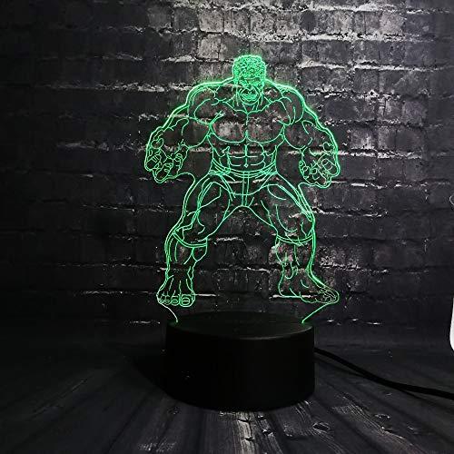 e Hulk Film Marvel Avengers Figur Batman Super Hero Minifiguren 7 Farbwechsel Junge Kinder Spielzeug ()