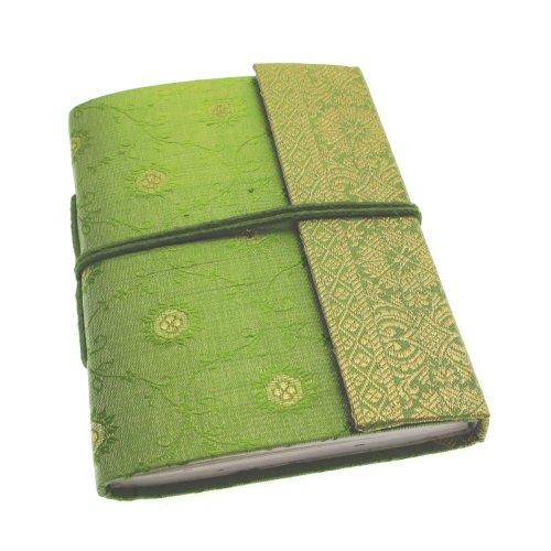 Paper High Sari Notizbuch, Gr. M, 120 x 165 mm grün