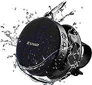 PTZ VISION Waterproof Speakers Shower Speaker Outdoor Bluetooth Speakers with Detachable Bicycle Mount, Shockp