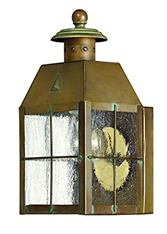 Hinkley Lighting 2376AS Wall Sconces , Outdoor Lighting, Aged Brass