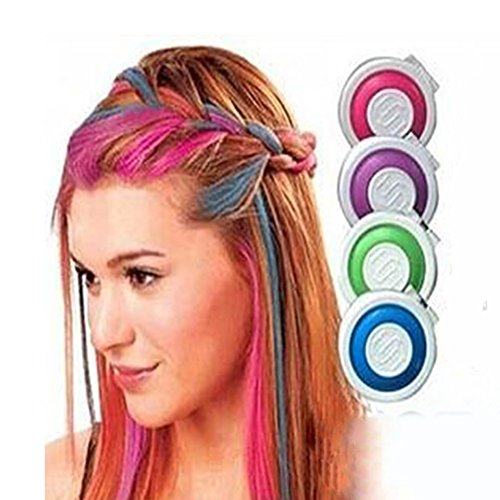 9eMart Hot Huez Temorary hair chalk with 4 colors  available at amazon for Rs.185