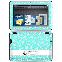 DecalGirl Skin-Kit für Kindle Fire HDX 7 (3. Generation - 2013 Modell), Refuse to Sink