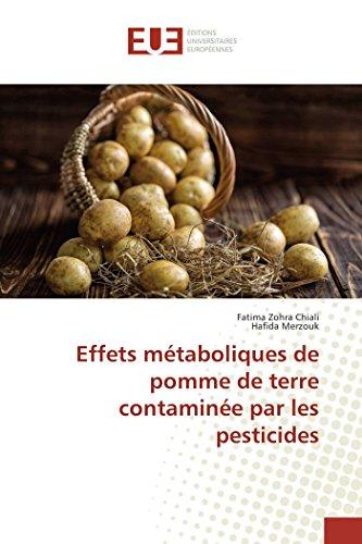 Effets métaboliques de pomme de terre contaminée par les pesticides