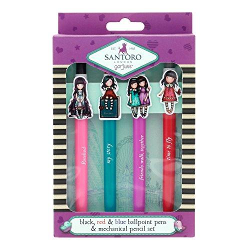 Gorjuss Kugelschreiber und Bleistift Set