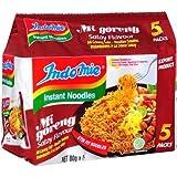 Indomie Mi Goreng Fideos Instantáneos Satay Pack de 5 400gm