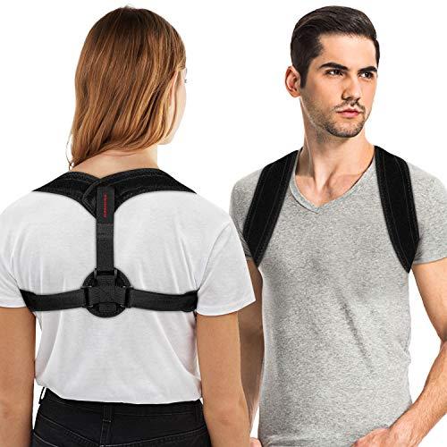 kungfuren Haltungstrainer, Geradehalter zur Haltungskorrektur Damen Herren Haltungskorrektur Rücken Rückenbandage Geradehalter Schulter Rückenstütze Einstellbarer Korrekturtrainer