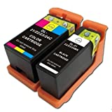 2 x Druckerpatronen Kompatibel zu Dell 21, 22, 23, 24 Dell V313 V313W V515 V515W V715 V715W P513 P513W P713 P713W