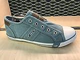 Mustang Damen 1099-401-706 Slip On Sneaker, Grün (Mintgrün 706), 40 EU