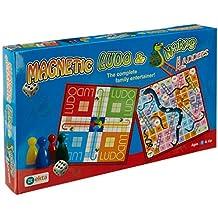 Ekta Magnetic Ludo Snakes 'N' Ladders Board Game