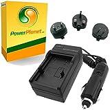 PowerPlanet Sony NP-FV30, NP-FV50, NP-FV70, NP-FV100 Chargeur de batterie rapide (comprend l'adaptateur pour automobile et les prises EU et GB, USA) pour Sony Handycam HDR-CX110, HDR-CX115, HDR-CX116, HDR-CX130, HDR-CX150, HDR-CX155, HDR-CX160, HDR-CX180, HDR-CX190, HDR-CX200, HDR-CX210, HDR-CX250, HDR-CX260, HDR-CX260V, HDR-CX270