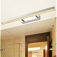 LED Lampada frontale mirror bagno lampada da parete igienici specchio per il trucco Gabinetto Dressing Specchio Lampada ( colore : Bianco caldo )