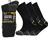 Best Work Boot Socks - B079HZH35212 Pairs Mens Heavy Duty Work Socks Shoe Review