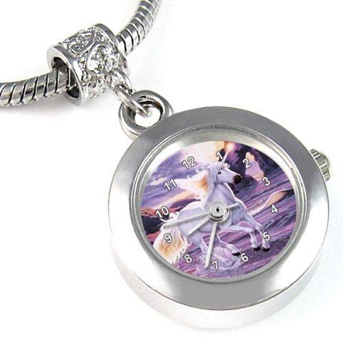 Licorne-Montre-Bead-pour-collier-ou-un-bracelet