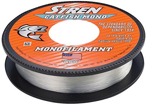 Stren Wallerschnur Monofile, Clear/Blue Fluorescent, 270-Yard/20-Pound
