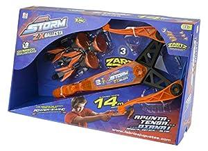 Air Storm - ZX, lanzador con forma de ballesta (Fábrica de Juguetes 89113)