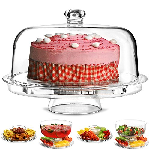 Dine@Drinkstuff - Multifuncional 5 1 soporte torta