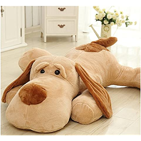 gigante perro de peluche buen compañero animal de felpa 47