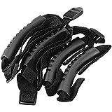 XCSOURCE® 4 piezas Grab Bar Handles Ultimate Grip Accesorio para Jeep Wrangler YJ TJ JK CJ Sports Sahara Freedom Rubicon Negro MA638