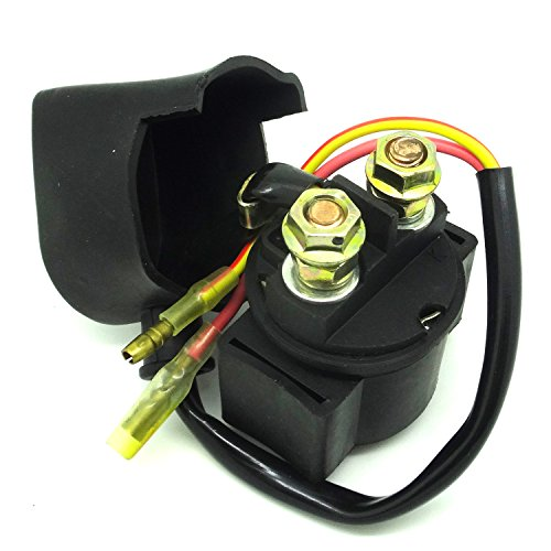 YIHAO Starter Relais Magnetventil passend für Honda 200TRX200SX FourTrax SX 198619871988zz35145 (1986 Fourtrax 200)