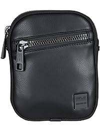 Replay Men's Men's Black Shoulder Bag In Size Taille Unique Black