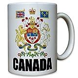 CANADA Kanada Wappen Abzeichen Heimat Emblem Sammler - Tasse Kaffee Becher #10391 T