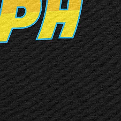 Planet Nerd - 88 MPH Time travelling Speed - Herren Langarm T-Shirt Schwarz