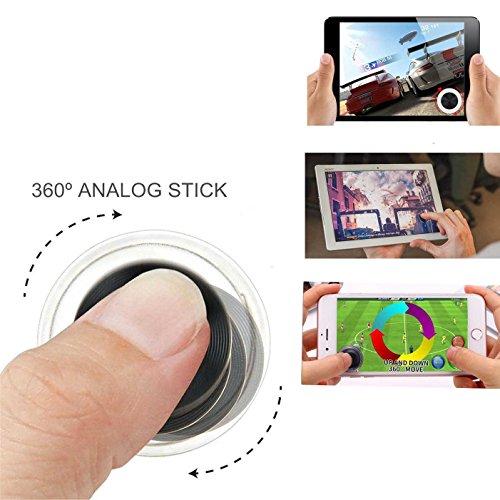 Mini Joystick Thumbstick Kappe Kappen für das Smartphone Gaming Controller Spiele von Love