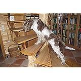 Alfombrillas antideslizantes adhesivas, 65x 15cm, transparentes, para la escalera, también para perros y niños 0,45mm, ultrafinas, autoadhesivas