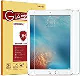 OMOTON 2017 iPad Screen Protector, iPad Pro 9.7 Screen Protector, Apple Pencil Compatible-Tempered Glass with [Scratch Resistant] [Crystal Clear] [Bubble Free] for New iPad 2017, iPad Pro 9.7, iPad Air, iPad Air 2