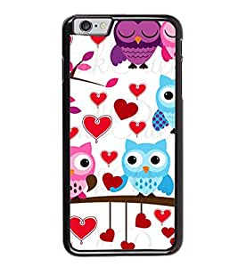 PrintVisa Designer Back Case Cover for Apple iPhone 6S (white blue grey red unique )